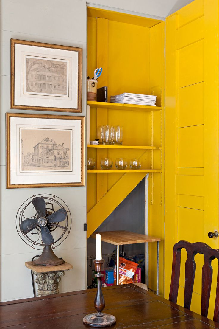17 best ideas about painted closet inside on pinterest closet bed closet bed nook and sliding - Jonquil yellow interior design ideas with surprising appeal ...