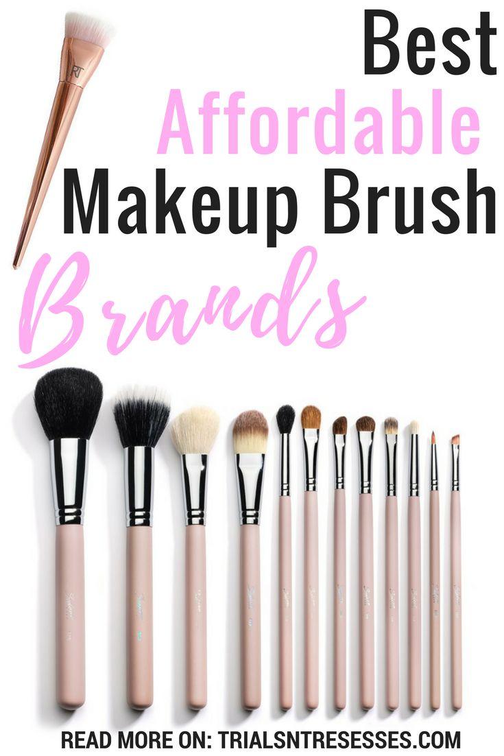Best Affordable Makeup Brush Brands