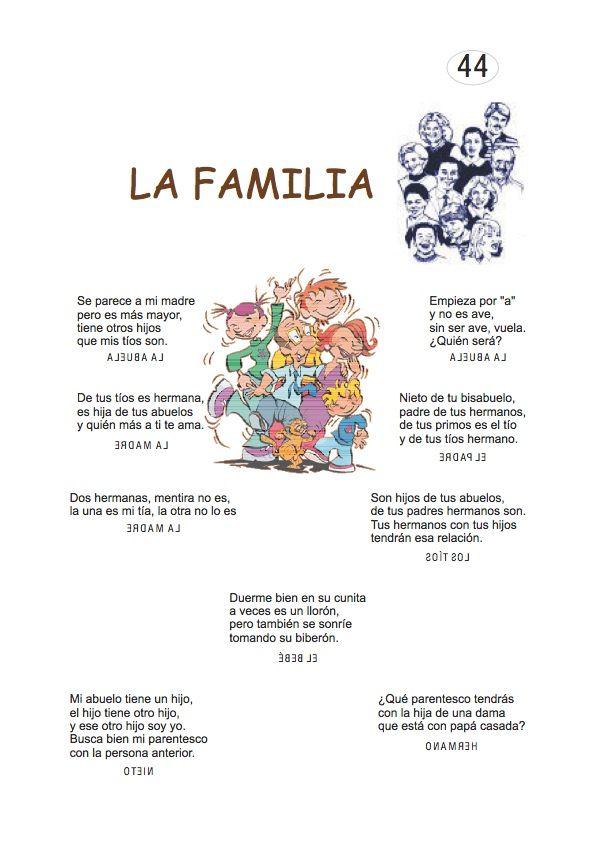 Qué es un poema para niños de primaria. ADIVINA ADIVINADOR…. | Adivinanzas y trabalenguas