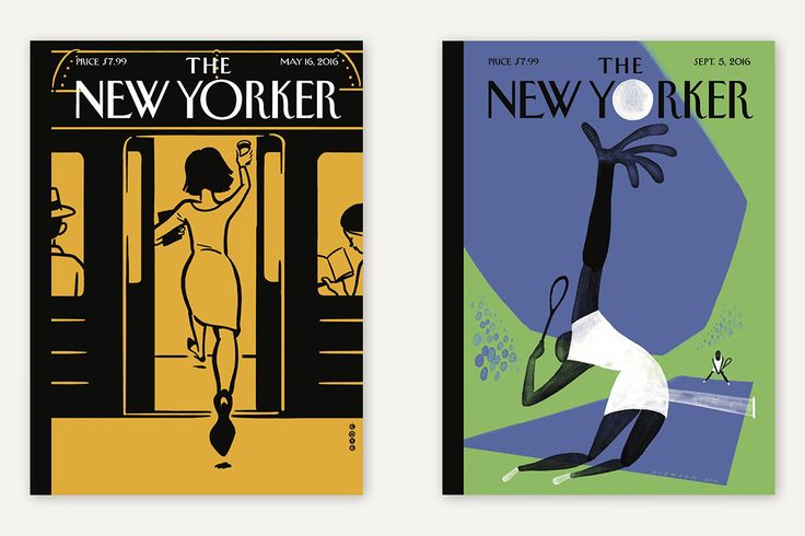 The New Yorker: Christoph Niemann AR covers