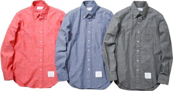 J'adore des chemises oxford