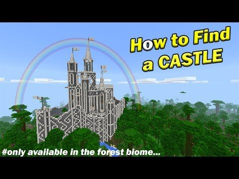 minecraft pre built castle seed pocket edition