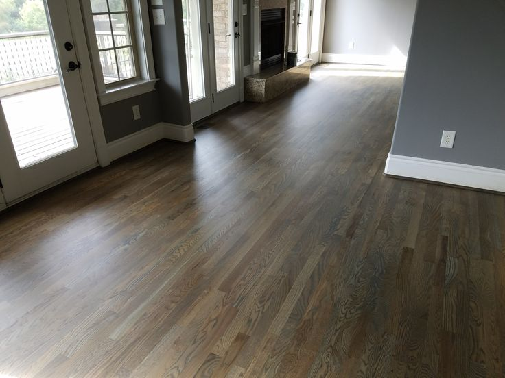 Bona Driftwood Stain On 2 1 4 White Oak Hardwoods