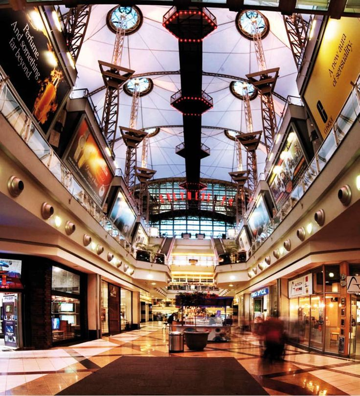 Menlyn Park Shopping centre - Pretoria, South Africa.
