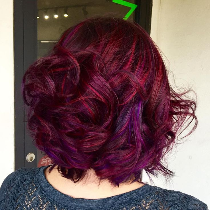 Burgundy / Purple hiar