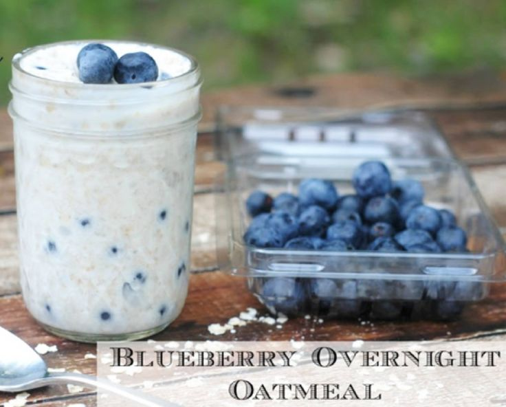 """Overnight oatmeal is a great """"make ahead"""" meal idea. Add different ingredients or flavor combos to switch it up! #mealprep #healthyeating"""