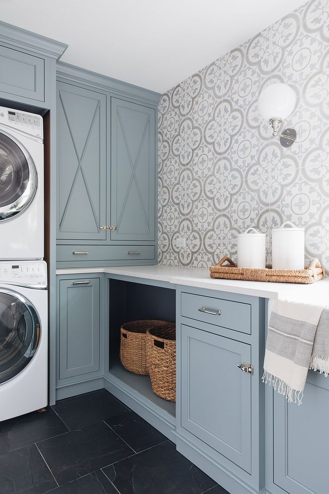 The Best Blue Gray Paint Colors Dream Laundry Room Laundry Room