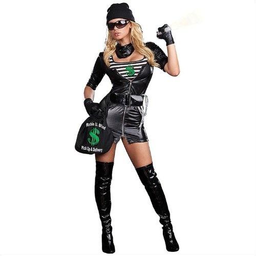 Female Robber Halloween Costume