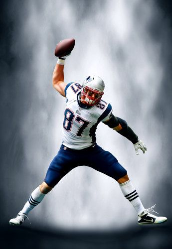 FREE SHIPPING: Rob Gronkowski Atomic Spike by ...
