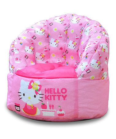 Pink Hello Kitty Toddler Bean Bag Chair Zulilyfinds