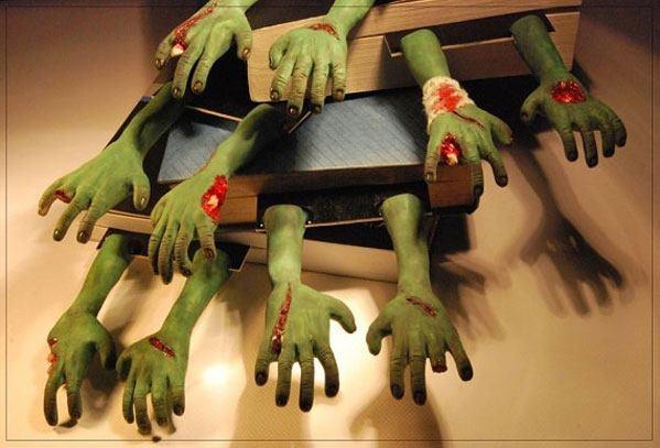 zombie hands @Debb Yaskovic