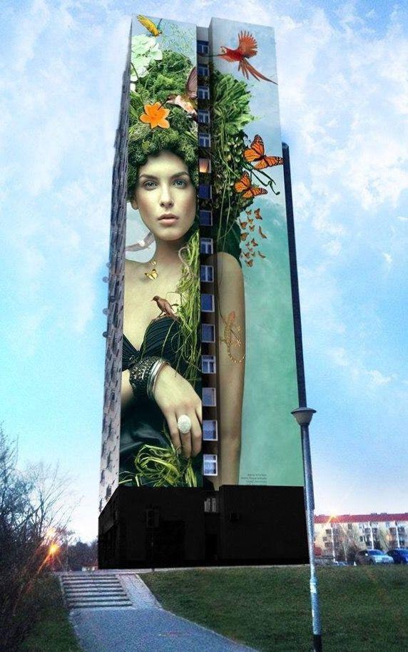 "Graffikon ""Natura"" in Poland (LP) | #streetart jd"