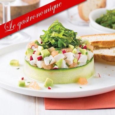 Tartare de pétoncles au pamplemousse et avocat - Recettes - Cuisine et nutrition - Pratico Pratique
