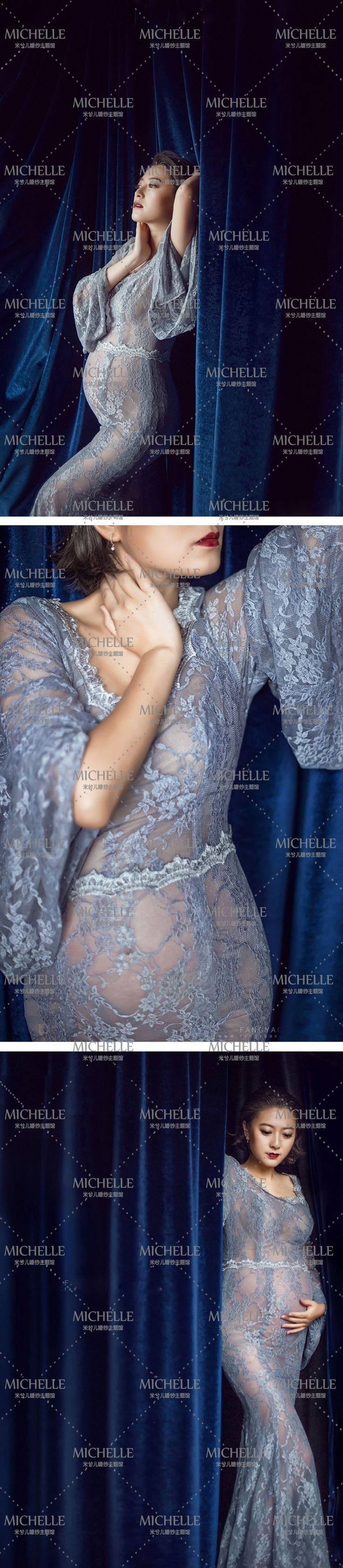 Новый 2015 беременных женщин фото одежда будущих мам фотографии платье беременность материнство фотография кружева длинное платье один размер купить на AliExpress