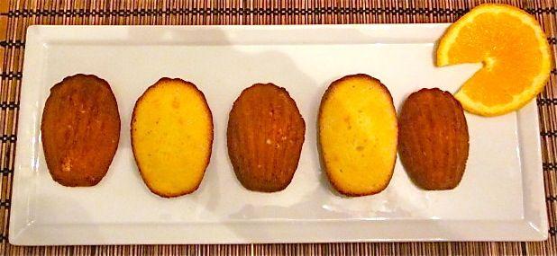 """Апельсиновое печенье """"Мадлен"""""""