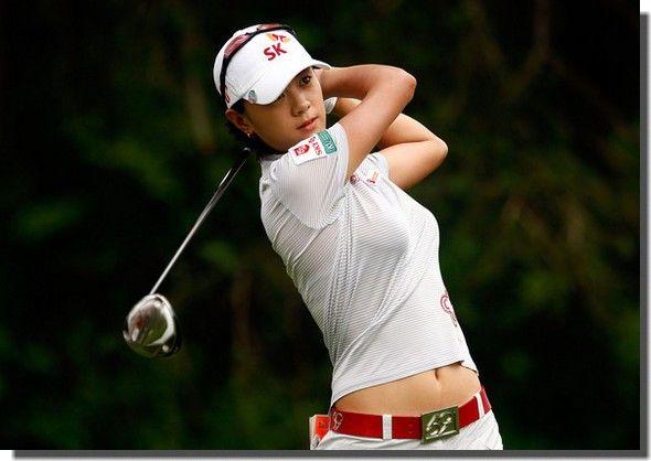 Choi Na Yeon, Korean beautiful Golfer