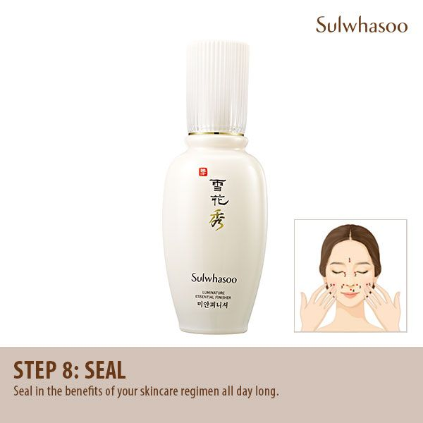 #Skincare Routine Step 8: #Seal in the #benefits of your skincare #regimen all day long.