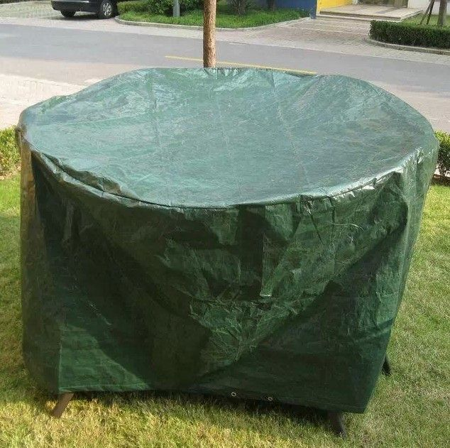 Round Outdoor Furniture Setting Cover. Milan Direct