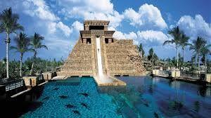 Mayan Temple - Atlantis - Bahamas