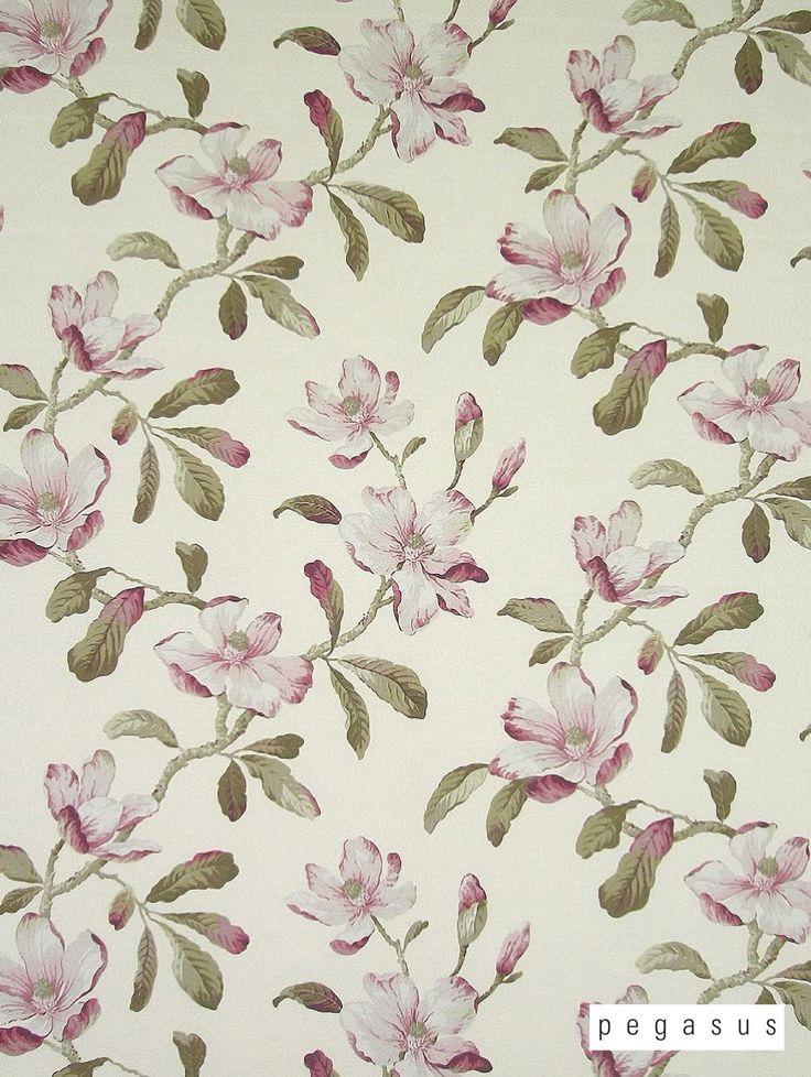 Pegasus Amelia - Fuchsia   Farmhouse Drapery Fabric
