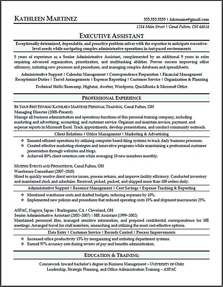 resume format in medical field