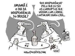 dia da independencia do brasil ironico