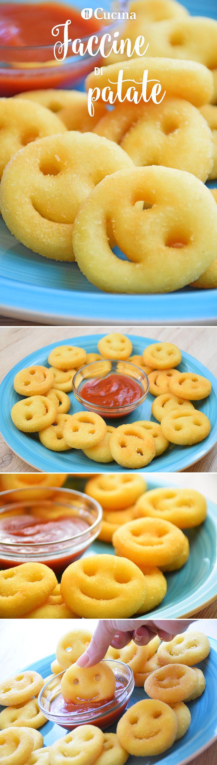Le faccine di #patate sono un contorno amatissimo dai più piccoli, facile da realizzare ma di sicuro successo. Ecco la #videoricetta