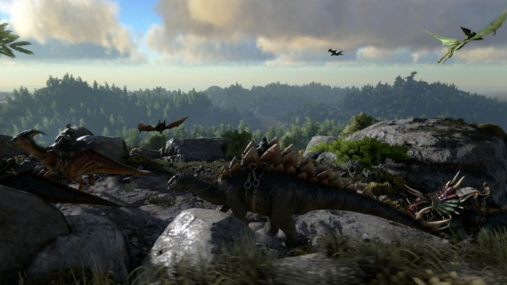 ARK Survival Evolved Game HD Wallpapers http://www.wallpapersvenue.com/ark-survival-evolved-game-hd-wallpapers/