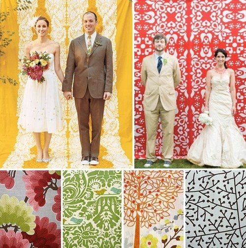 61 best photo booth bitch images on pinterest backdrop ideas photobooth patterned fabric backdrop but id probably go for a more neutral colour solutioingenieria Images