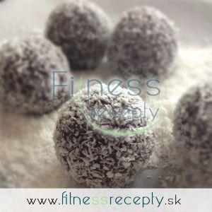 Výborné proteínové kokosové guličky