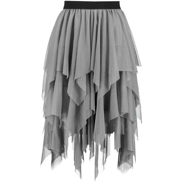 Boohoo Maya Boutique Layered Tulle Full Midi Skirt (£15) ❤ liked on Polyvore featuring skirts, pleated mini skirt, pleated midi skirt, pleated maxi skirt, circle skirts and tulle mini skirt