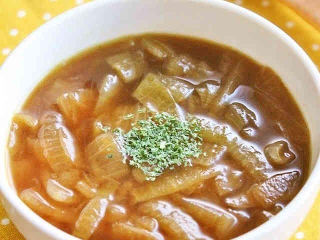 簡単シンプル♪とろとろオニオンスープの画像