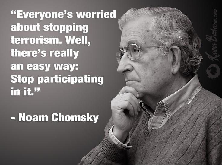 noam chomsky terrorism quote