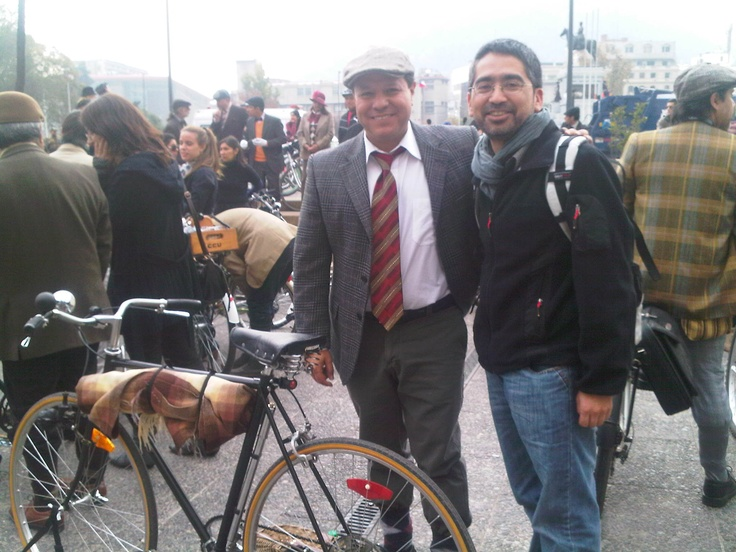 Tweed Run Santiago Chile 2012