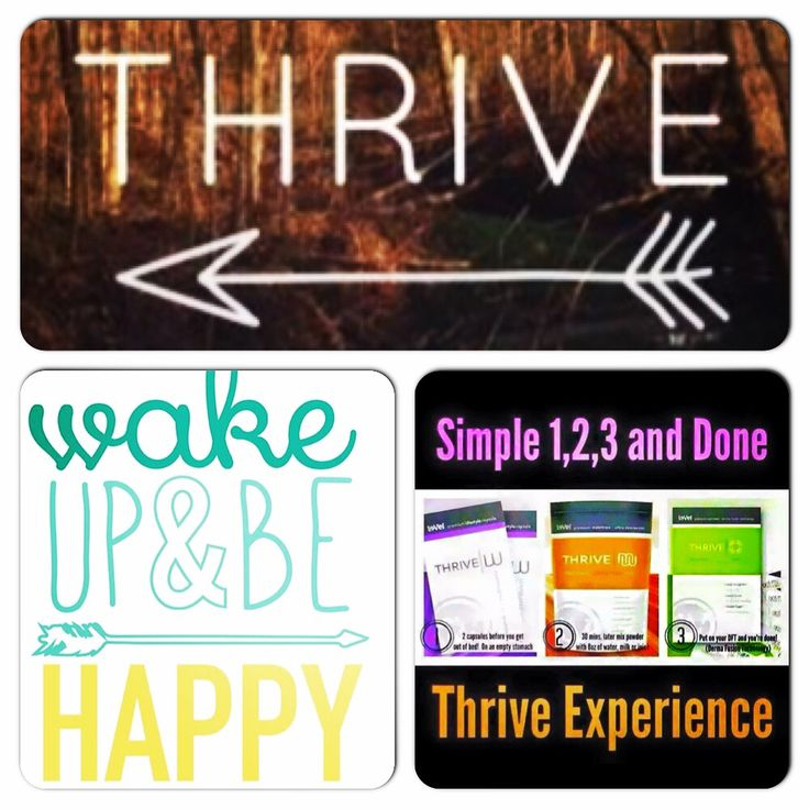 Yep! It's that simple!! Three simple steps first thing in the morning and you will feel amazing all day long!!!! Energy with no crash, appetite control, joint support, digestive support, mental clarity, and so many other amazing things! Let's get you on your 8 week Thrive experience today!!! ValerieDav.le-vel.com