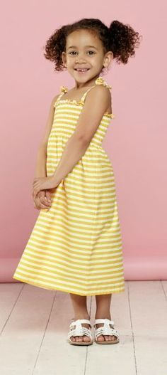How to sew a shirred dress for girls or women