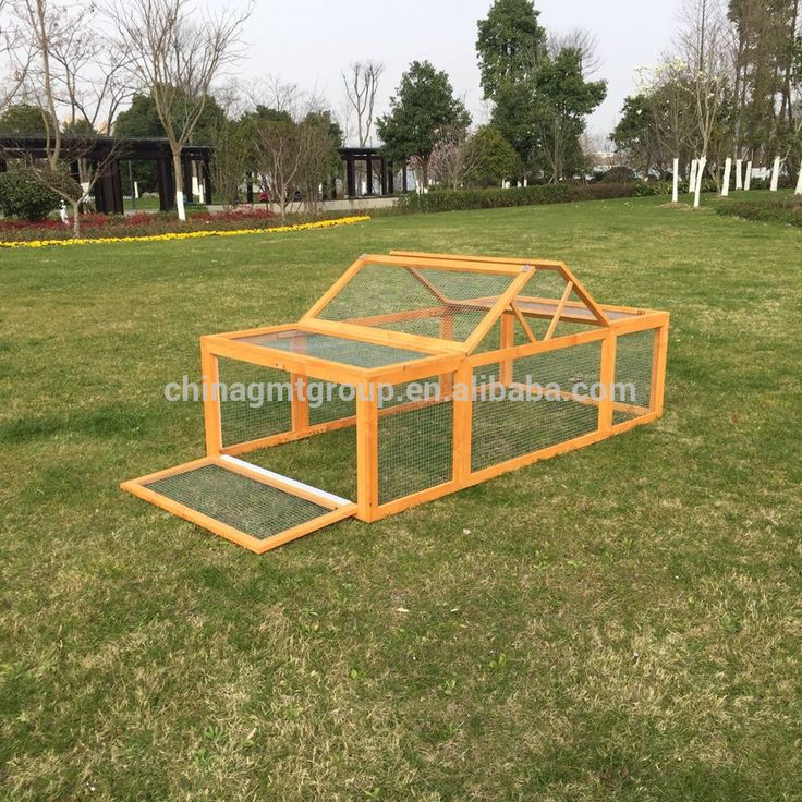 Cheap Easy Clean Wooden Rabbit Cages For Sale