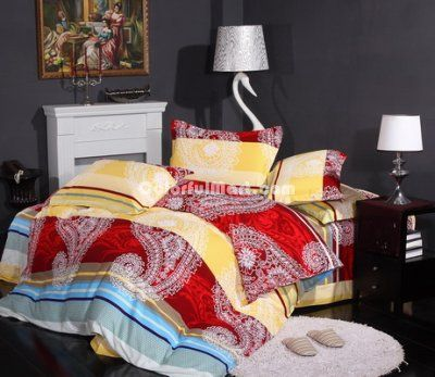 Chinese Royal Cheap Modern Bedding Sets [100701500006] - $129.99 : Colorful Mart, All for Enjoyment
