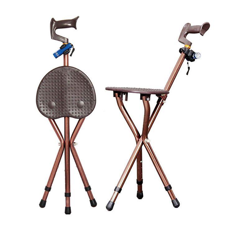 Adjustable Folding Walking Cane Chair Stool Massage Walking Stick with Seat Portable Fishing Rest Stool with  sc 1 st  Pinterest & Best 25+ Portable stool ideas on Pinterest | Outdoor stools ... islam-shia.org