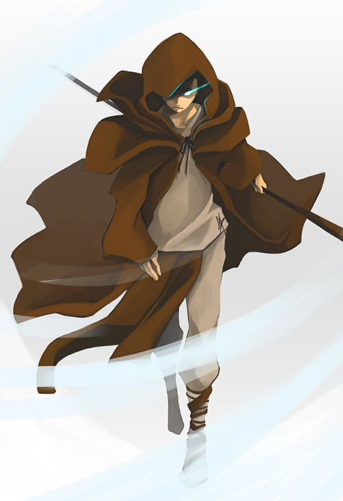 Aang the Traveler--Never happened, but  it looks awesome.