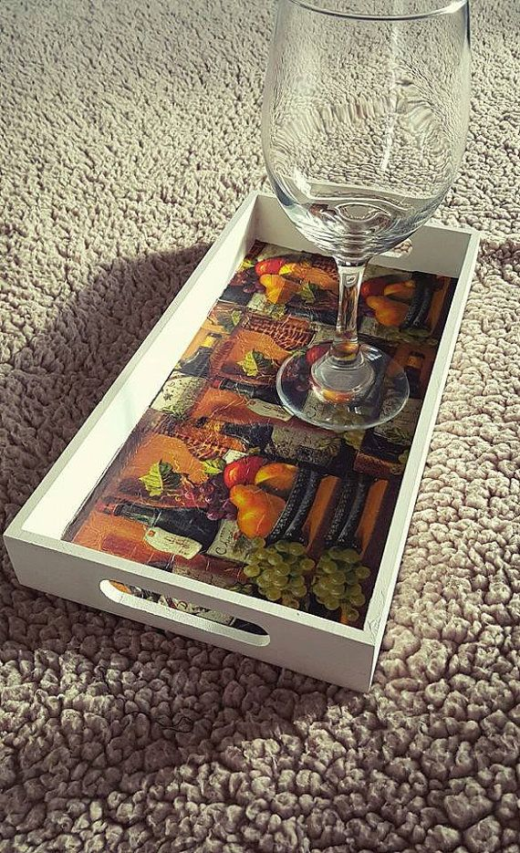 Check out this item in my Etsy shop https://www.etsy.com/listing/275748584/wine-time-wooden-trays-with-handles-wine