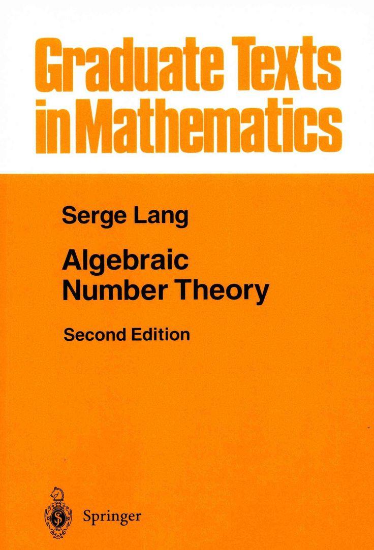Algebraic Number Theory