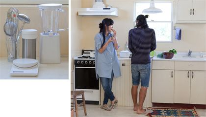 home~~~Kitchen is the heart | Muji | beginning of MUJI meets IDEE Futari