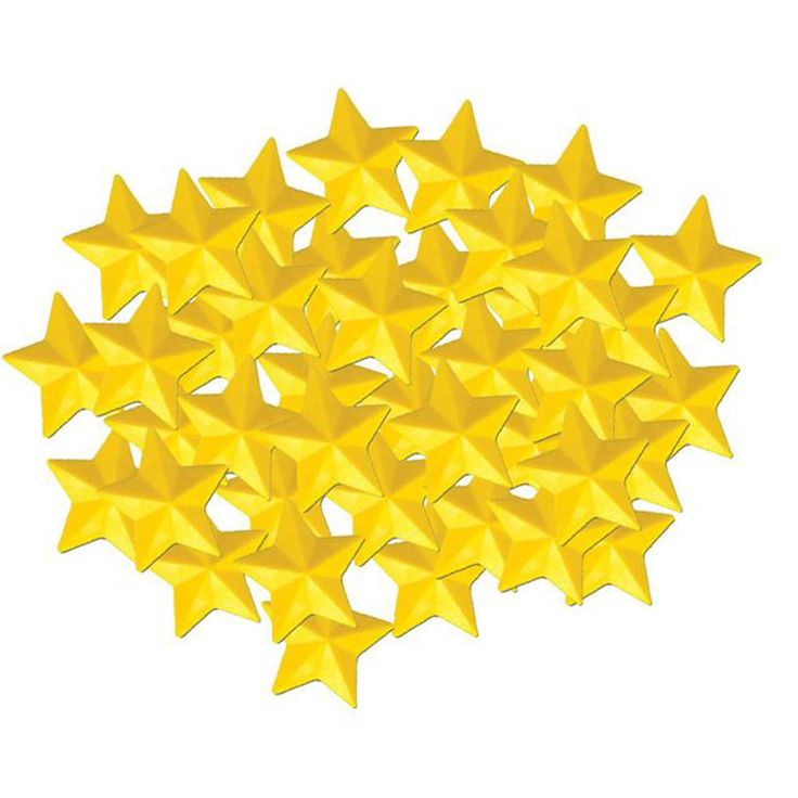 Kenson Kids Plastic Replacement Star Pack