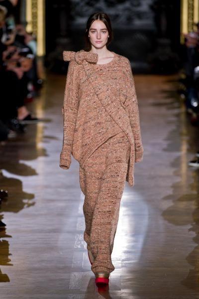 Maglioni e pantaloni di lana coordinati in total look per affrontare il grande freddo