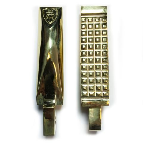 Grounded Brass Foot Pegs  $119 US