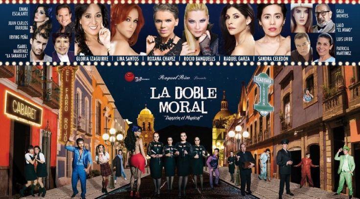 """La obra de teatro """"La Doble Moral, Danzón"""" es un Musical que se presenta este 14 de Mayo en el Fox Performing Arts Center en ..."""