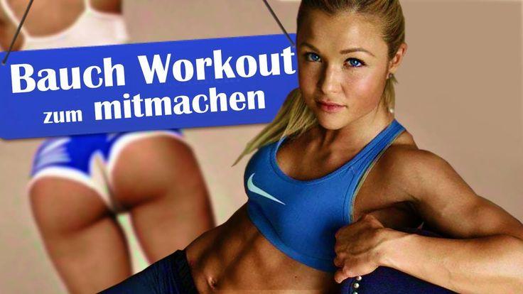 ♥ Bauch - Homeworkout zum Mitmachen! ♥ Training mit Sophia Thiel