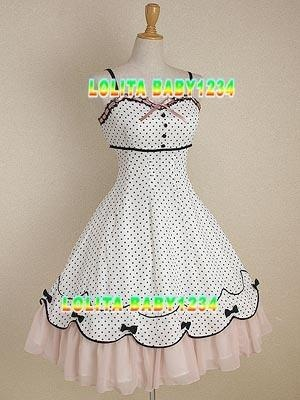 I found 'Vintage New Moulin Fine Girly Gothic Stunning Bodyline Lolita Custom Emo Dress' on Wish, check it out!