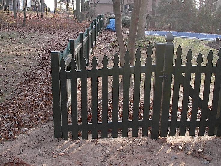 Prizm Vinyl Fences Style Harrisburg Color Forest Picket